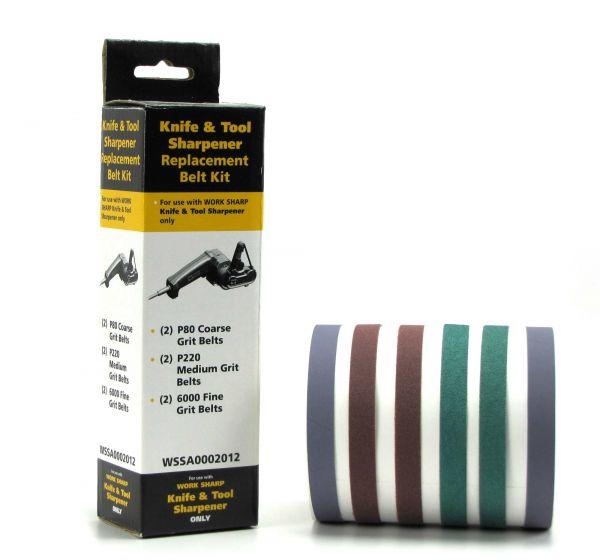 Work Sharp-Ersatzschleifbänder-Set