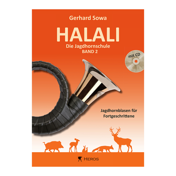 """Buch """"Halali - Die Jagdhornschule"""" Band 2, mit CD"""
